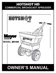 OWNER'S MANUAL - Home Depot