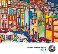 Relatório de Ações Sociais - Globo