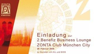 Einladung zur - Ursula Meissner