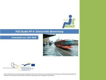Fall Studie Nº 4: Stressrisiko Bewertung - SPA ROAD