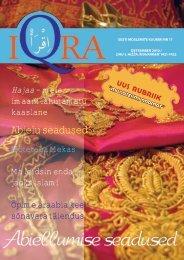Iqra kuukiri nr.17 - Islam