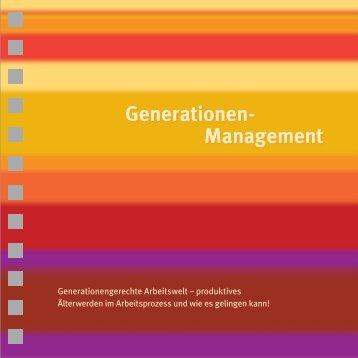 Generationengerechte Arbeitswelt