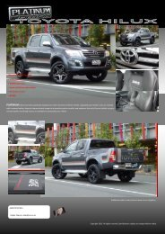 2012 Toyota Hilux - Retro Vehicle Enhancement