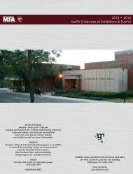 2012-2013 Exhibition Schedule - Museum of Fine Arts - Florida ...