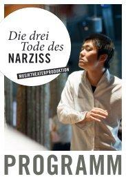 narziss - Staatliche Hochschule für Musik und Darstellende Kunst ...