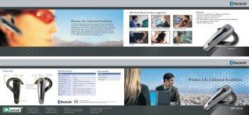 Bluetooth Bluetooth - Mustek System Inc.