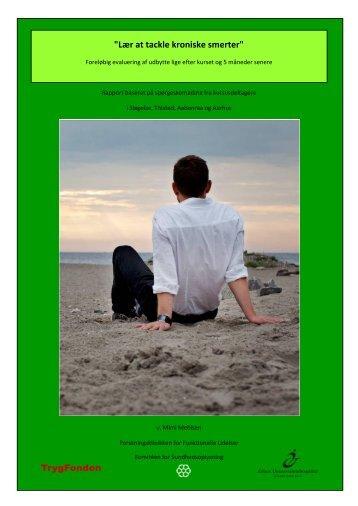 Lær at tackle kroniske smerter 2010 - Patientuddannelse
