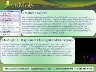 e Mobile Task Pro Flashlight 1 Magnesium Flashlight and ... - RunMob