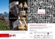 die deutschschweiz von ihrer besten seite - Mémoire & Friends