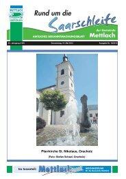 Ausgabe 19. KW 2012 vom 10.05.2012 - Gemeinde Mettlach