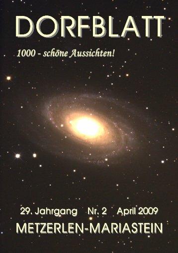Datum: Sonntag, 26. April 2009 - Metzerlen-Mariastein