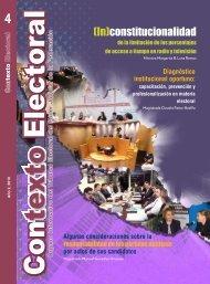 (In)constitucionalidad - Tribunal Electoral del Poder Judicial de la ...