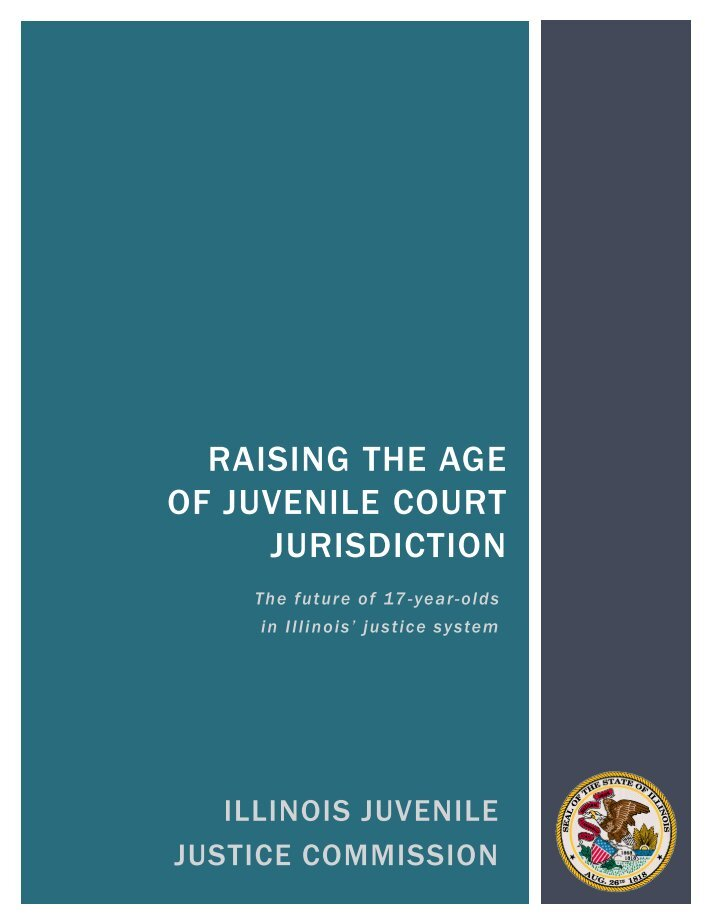 should juvenile court jurisdiction be raised or lowered Raising the age of the juvenile court jurisdiction in texas from 16 to 17 would, by default, place 17-year-olds in the juvenile justice system, improving public safety by lowering re-offending rates among these youth (maciver institute.