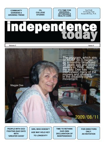 Issue 18 - Independence Today