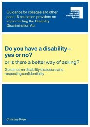 Do you have a disability – yes or no? - Use My Ability employability ...