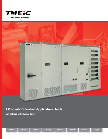 TMdrive®-10 Product Application Guide - Tmeic.com