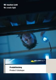 Produktkatalog Product Catalogue Wir machen Licht We create light