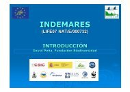 INDEMARES - Confederación Española de Pesca Responsable