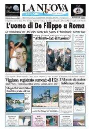 L'uomo di De Filippo a Roma - Roberto Race