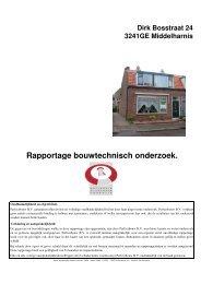 Rapportage bouwtechnisch onderzoek. - Webkey