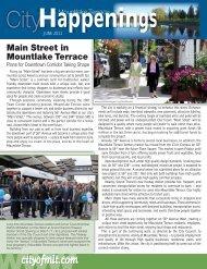 June issue - City of Mountlake Terrace