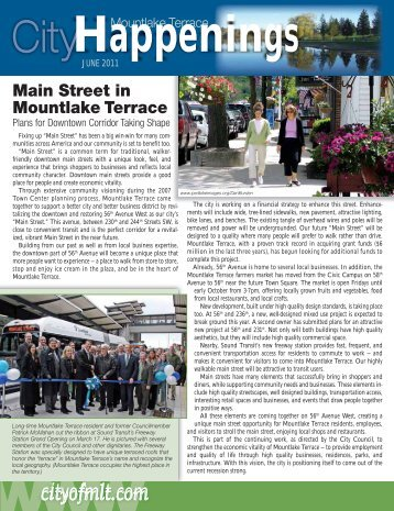 June issue - City of Mountlake Terrace