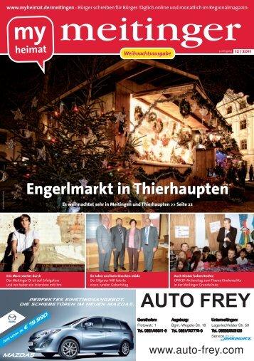 Engerlmarkt in Thierhaupten - MH Bayern