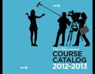 COURSE CATALOG 2012-2013 - WHYY