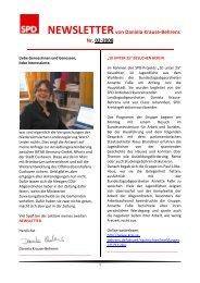 Newsletter 02-2008 - Daniela Behrens