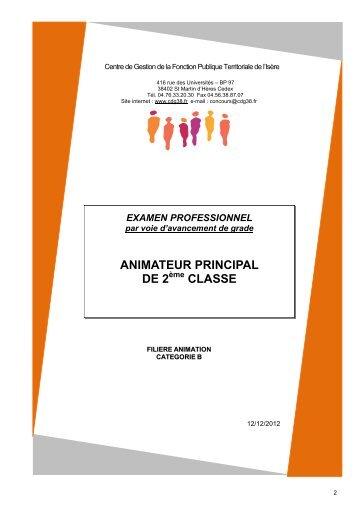 Technicien territorial principal de 2 me classe cdg38 - Grille indiciaire technicien principal 2eme classe ...