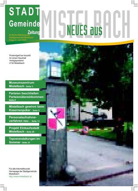 StadtGemeinde Zeitung - Mistelbach
