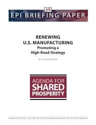 Renewing US manufacturing - Global Policy Network