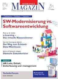 Der Weg zum Echtzeit- Data-Warehouse - Midrange Magazin