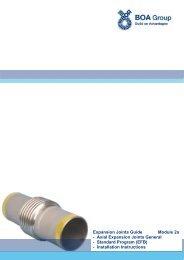 Module 2a Axial Exp.Joints BOA AG General - BOA Group
