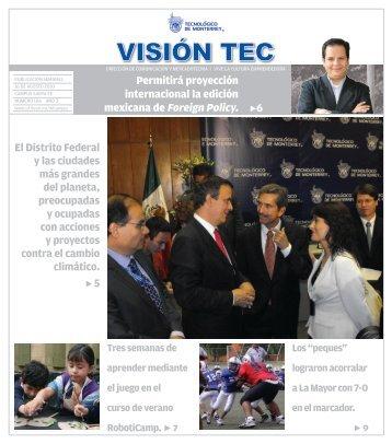 Visión 100 - Santa Fe - Tecnológico de Monterrey
