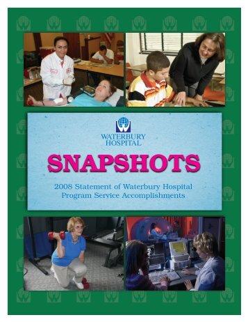 SNAPSHOTS - Waterbury Hospital