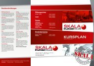 KURSPLAN - Skala Sports Club