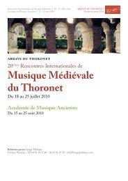 Académie de Musique Ancienne - Radio France