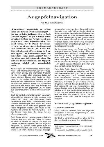 Augapfelnavigation - Frank Praetorius