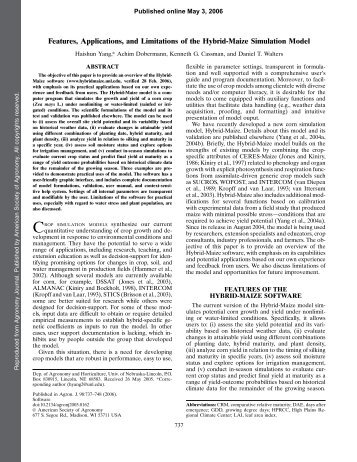 Full Text (PDF) - American Society of Agronomy