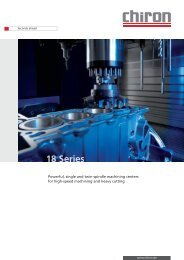 Powerful, single and twin-spindle machining centers for high-speed ...