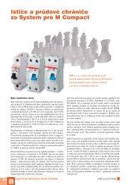 Ističe a prúdové chrániče zo System pro M Compact - ATP Journal