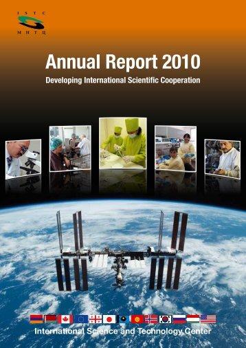 Annual Report 2010 - ISTC