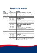 ASEM Development Conference II Conference Programme - TEIN3 - Page 4