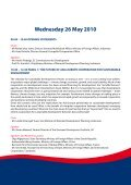 ASEM Development Conference II Conference Programme - TEIN3 - Page 5