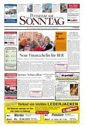 Neue Finanzchefin für BER - Potsdamer Neueste Nachrichten