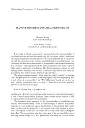 Transfer Principles and Moral Responsibility - Andrew M. Bailey