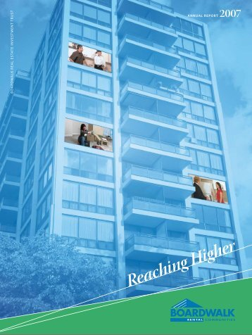 2007 Annual Report PDF File - Boardwalk REIT