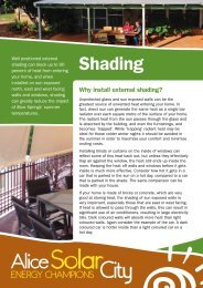 Shading - Alice Solar City