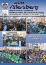 OKTOBER 2012   MARKT ALLERSBERG - SEIFERT Medien